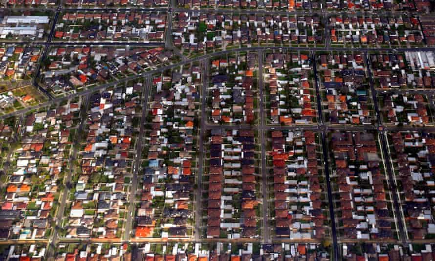 Houses in Sydney's eastern suburbs.