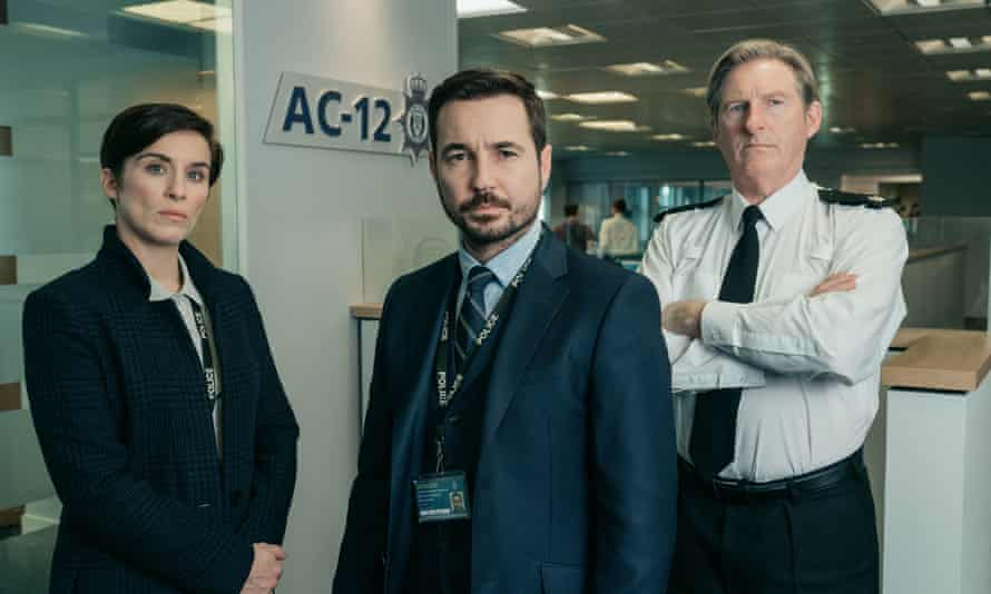 Cressida Dick was unaware of the popularity of Line of Duty but was prompted to watch the series after meeting Vicky McClure, left.