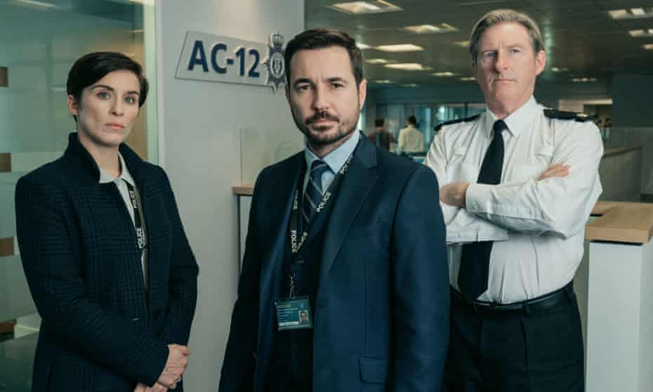 Stoppers of bent coppers ... Line of Duty's Kate, Steve and Ted.