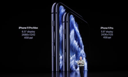 The iPhone 11 Pro and Pro Max are Apple's new creative-aimed phones.