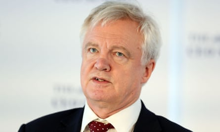 David Davis is said to be pragmatic about a transition period.