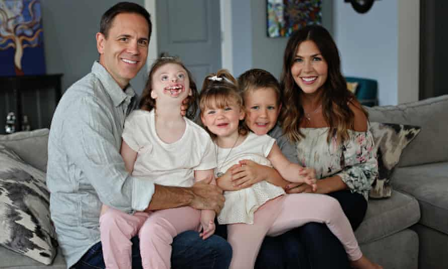 Natalie Weaver and her family.