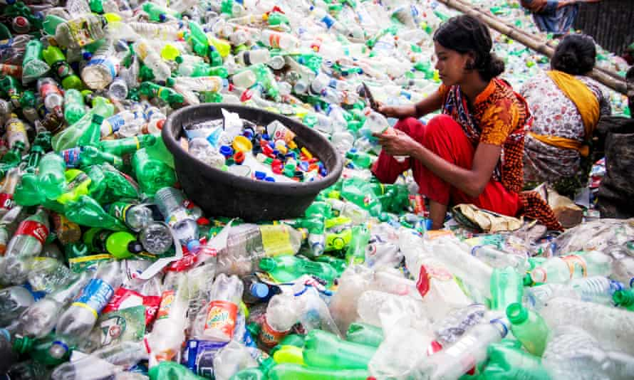 David Katz's company The Plastic Bank aims to encourage recycling and create jobs in underprivileged communities.