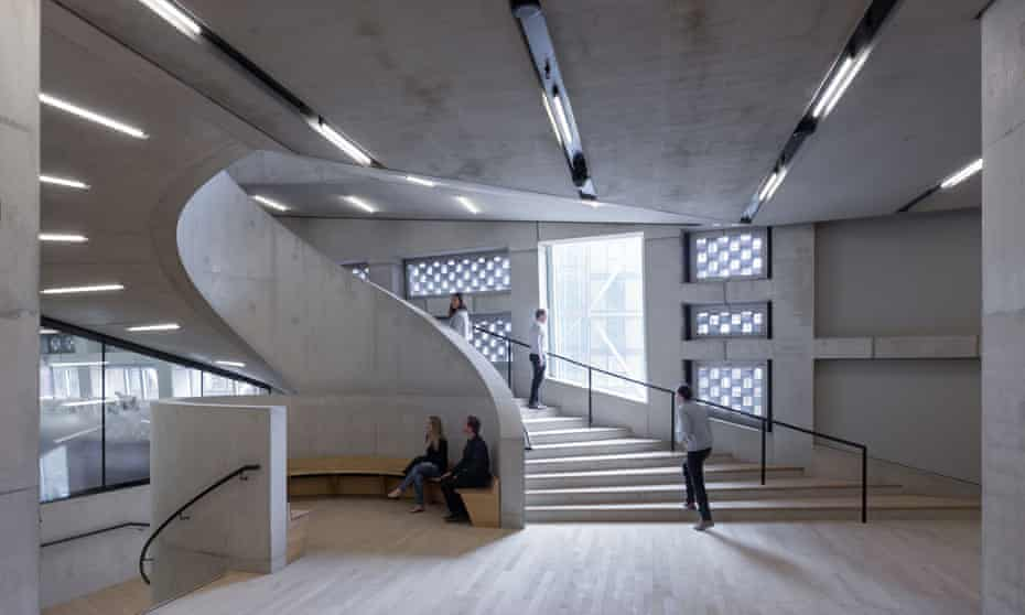 Unexpected places … the stairwells with seating areas