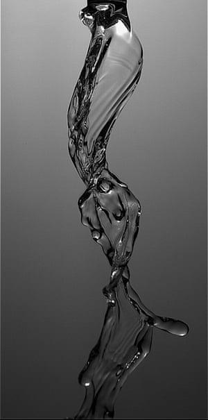 A rotating jet of a viscoelastic liquid