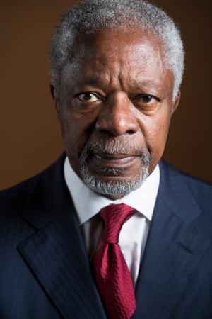 Kofi Annan in 2012