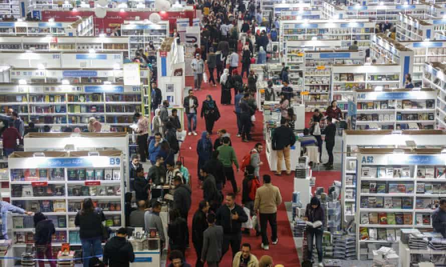 The Cairo international book fair.