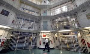 Inside Pentonville prison, north London