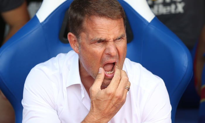 Frank de Boer's future at Crystal Palace in doubt after three defeats