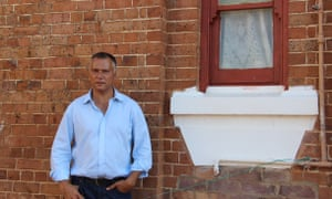 Stan Grant at Coota Girls home