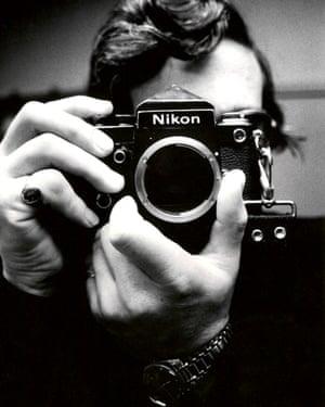 Tony McGrath, picture editor of the Observer: self-portrait, December 1975.
