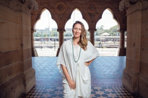 Stephanie Rosenthal, artistic director of 2016 Biennale of Sydney, at Mortuary station.