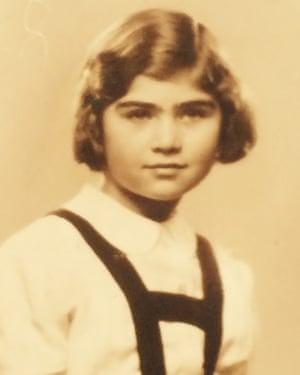 Zuzana Maresova as a child.