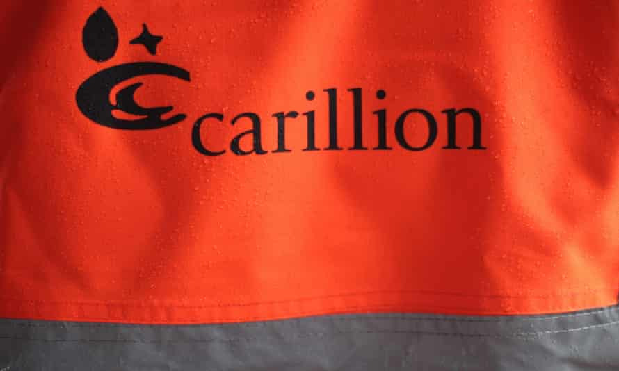 carillion hi-viz jacket