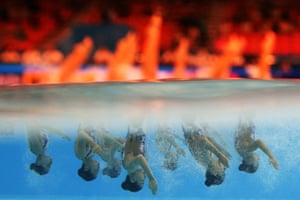 Team Hong Kong compete in the World Swimming Championships in Gwangju, South Korea