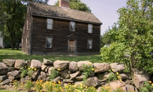 The birthplace of John Adams