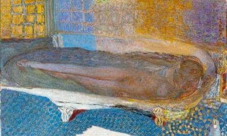 Bath-time again … Nu dans le bain Nude in the Bath (Nu dans le bain) 1936-8, from Pierre Bonnard: The Colour of Memory.