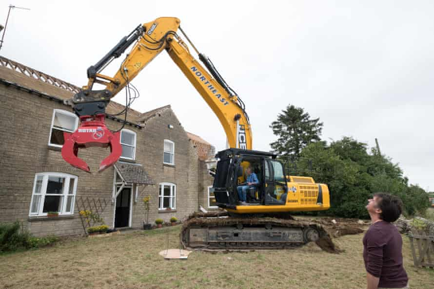 Let loose online, there are elements of misleading, teasing and even fiction … such as Hammond and May bulldozing Clarkson's house.