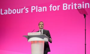 Owen Smith, now a Labour leadership contender, at the party conference in 2014, the year Labour changed its leadership election system.