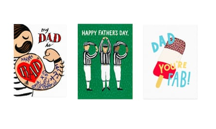 Personalised fathers day cards, £3.35papier.com