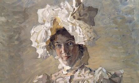 Nadezhda Zabela-Vrubel by Mihail Vrubel, 1898.