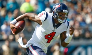 Deshaun Watson played through pain as the Texans went top of the AFC South