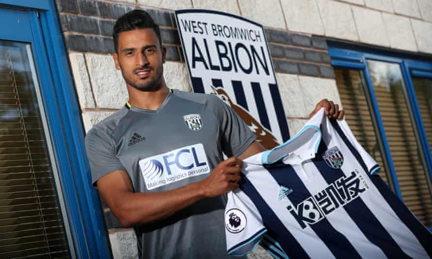 Belgium winger Nacer Chadli has signed for West Bromwich Albion for £13m from Tottenham