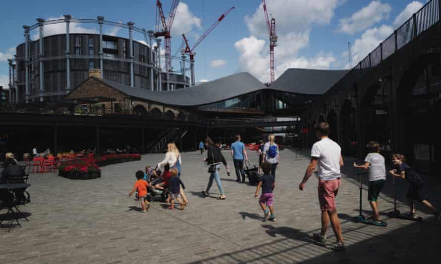 The newly renovated King's Cross development.