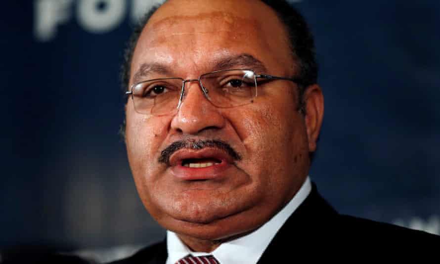Papua New Guinea's prime minister, Peter O'Neill