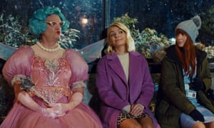 Holly Willoughby stars with Keith Lemon in M&S's pared-down Christmas ad campaign.