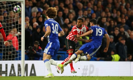 Chelsea tighten title grip after Diego Costa scores twice against Southampton