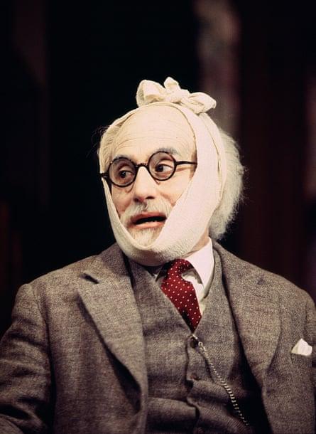 Henry Goodman as Sigmund Freud in Hysteria.