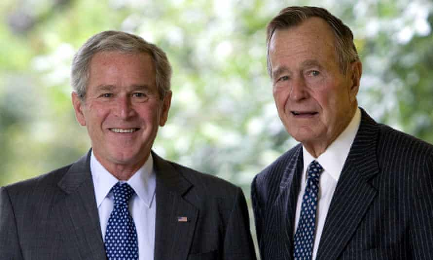Spokesmen for both former presidents said they would be sitting out the 2016 election.