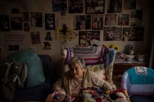 Gladys Saroli has Frontotemporal dementia.
