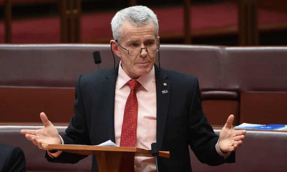 One Nation Senator Malcolm Roberts makes his maiden speech in the Senate
