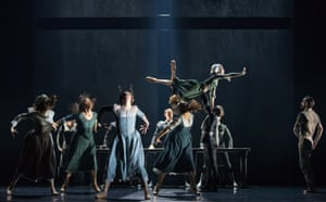 Scottish Ballet perform Helen Pickett's The Crucible in Edinburgh.