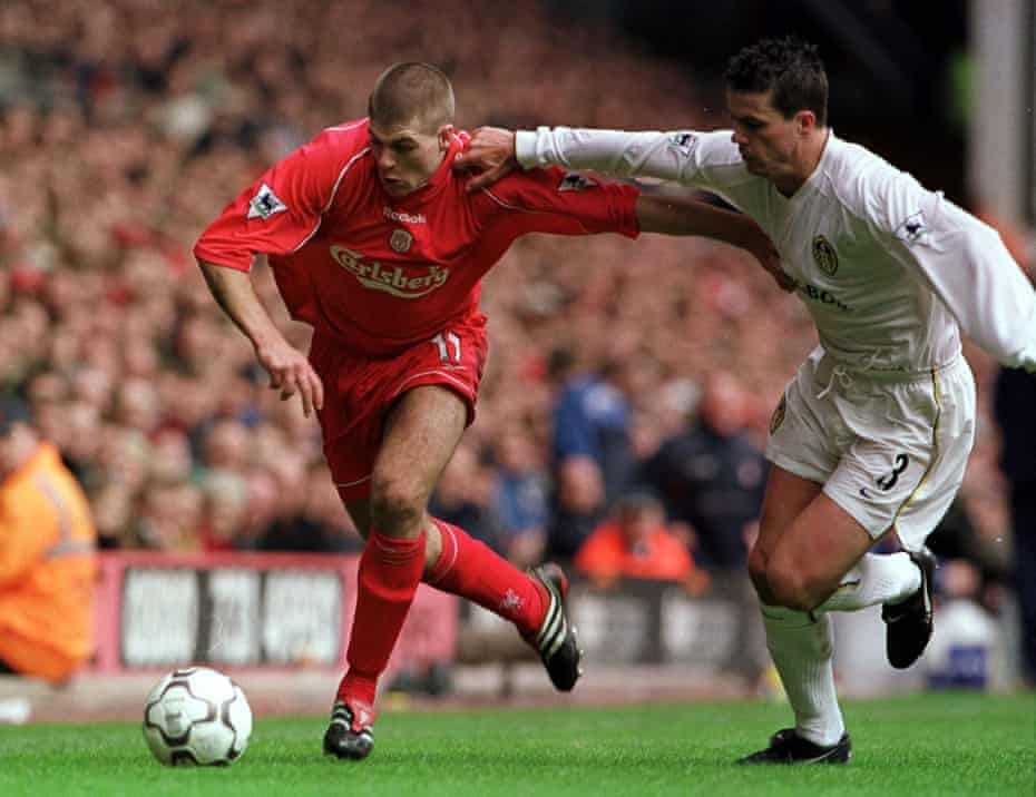 Steven Gerrard was given his debut by Houllier and went on to become one of the club's greatest ever players.