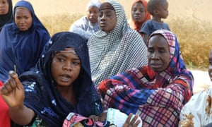 Women in Moda, north-east Nigeria, returned home to find Boko Haram had destroyed their farms.