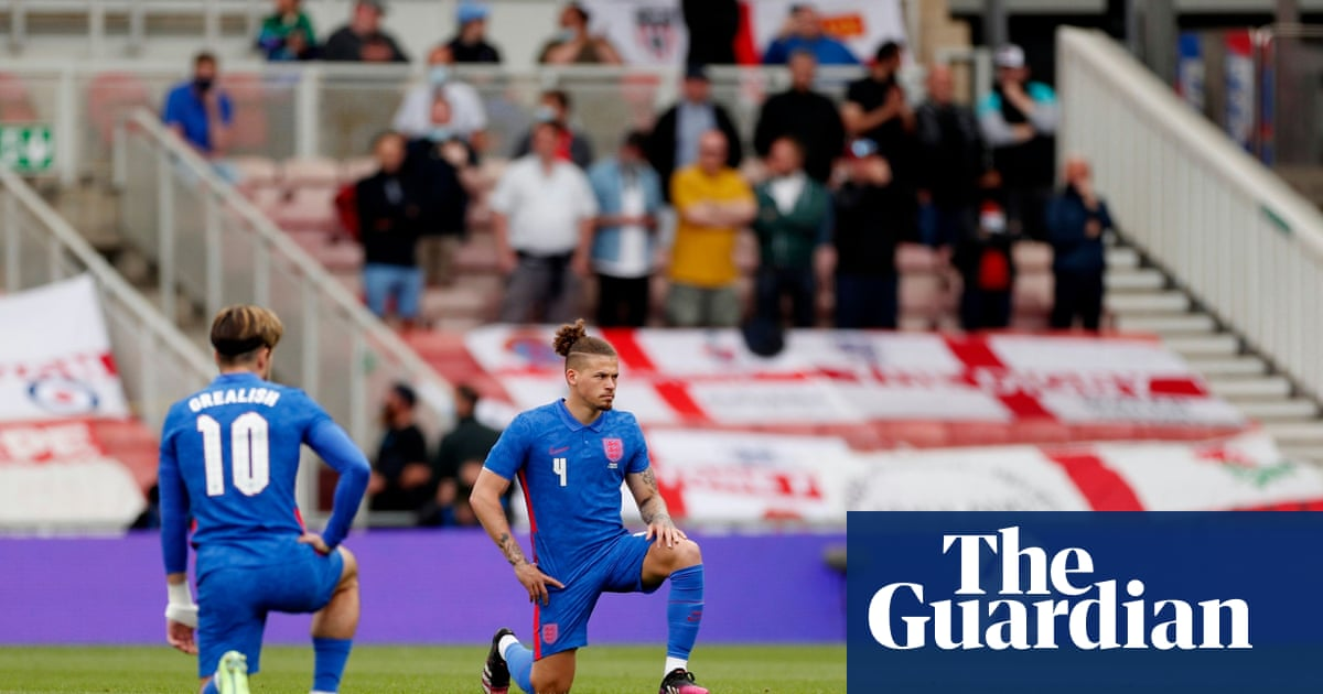 Pretending that booing England is about 'keeping politics out' is cowardly