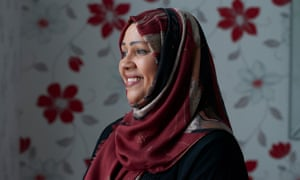 Afia Choudhury, a foster carer who has cared for 27 children over the past 14 years, photographed at her home in east London.