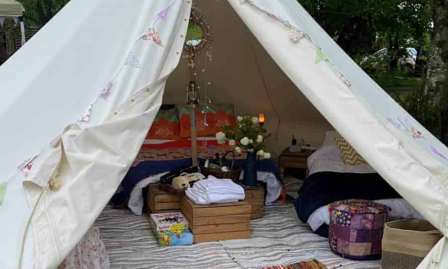 Will Hill camping, Gloucestershire.