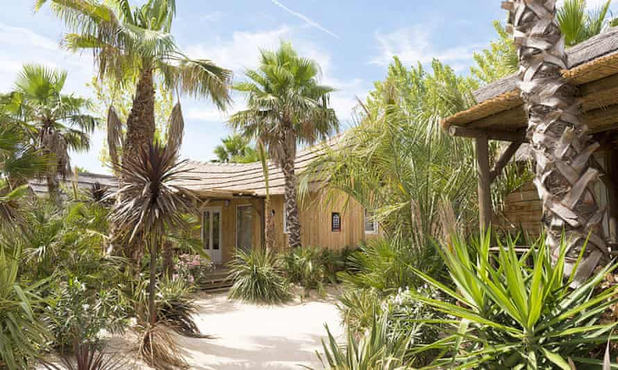 One of Riviera Villages' three holiday camps in Saint-Tropez, France.