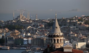 A view of Istanbul's skyline