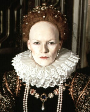 Glenda Jackson in the 1971 BBC series Elizabeth R