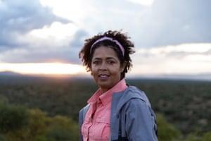 Paula Kahumbu, a Kenyan wildlife conservationist