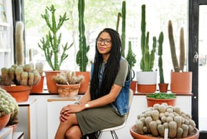 'They suit people of our generation. I could put in minimal effort and a plant will thrive' ... Gynelle Leon, owner of east London cactus shop Prick.