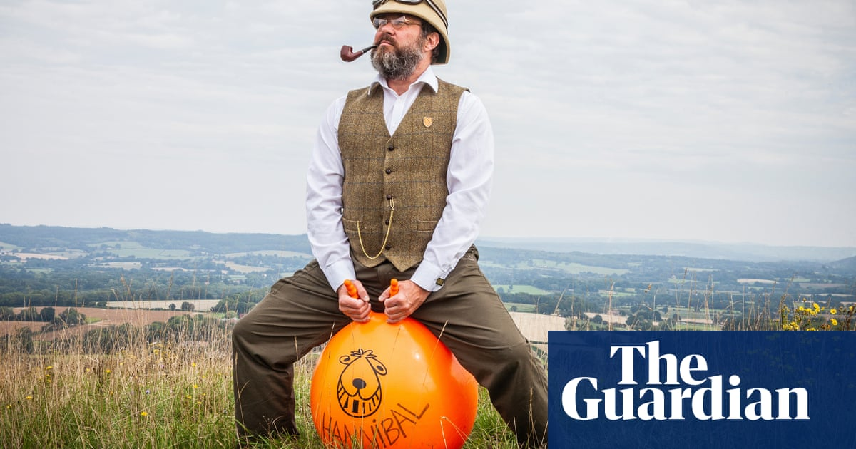 Experience: I crossed the Alps on a space hopper