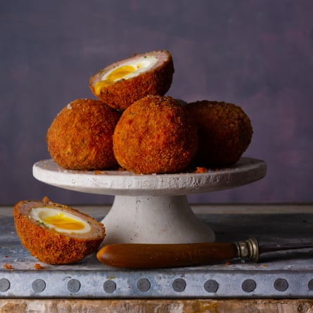Scotch egg by Richard Turner at Hawksmoor. The Observer Food Monthly 20 best egg recipes.