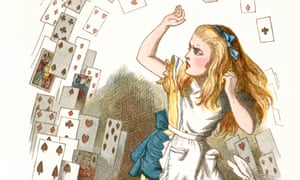 A giant of the miniature … Alice's Adventures in Wonderland.