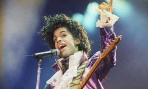 'Being in his band was like getting in a sports car with a racecar driver' … Prince performing in 1985.
